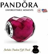 Authentic S925 Ale Pandora Shape Of Love Rose Crystal Heart Charm 796563nfr