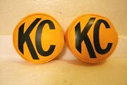Vintage New Nos Kc Hilite @1232 - Lamp Covers - 1987 Unused 6in - Rare -