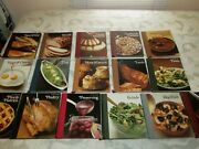 Vintage Time Life The Good Cook Recipe Book Series Hardcover 1978-1981 Set 16