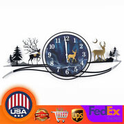 Wall Clocks Acrylic Deer Patterned Home Decorations Watches 32.2815.74 In Us