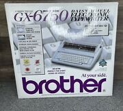 Brother Gx-6750 Daisy Wheel Electric Typewriter Open Box Missing Keyboard Cover