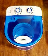 Base Camp Outdoor Systems Portable Electric Washing Machine For Camping