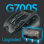Upgraded Logitech G700 G700s Wired Wireless Rechargeable Gaming Mouse 13 Buttons