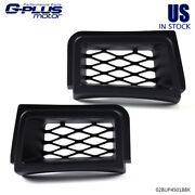 Front Bumper Brake Air Ducts Ss Style Black Fit For 03-07 Chevy Silverado 1500
