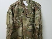 Ocp Scorpion Army Issue Fracu Uniform Top Flame Resistant Large Regular Nwt
