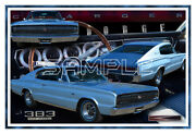 1966 Dodge Charger Poster Print