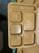 Lot Of 5 Trays 3 Vintage General Tire, 2 Texas Ware Cafeteria Trays Melamine
