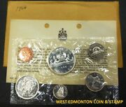 1966 Uncirculated Proof Like Set - Canadian 6-coin Set - Envelope And Certificate