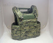 Flyye Fast Attack Plate Carrier Fapc Gen2 Molle Vest - Aor2 Woodland Camo Aor1