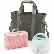 Spectra - S1 Plus Electric Breast Milk Pump With Tote Bag Bottles And Cooler