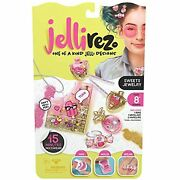 Jelli Rez Sweets Jewelry Pack - Quick And Easy Diy Resin Inspired Craft Activity