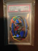 Trae Young 2018 Panini Select 142 Die Cut Blue Prizm Rookie Rc /249 Psa 10