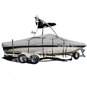 Mastercraft X-10 With Wakeboard Tower Trailerable Storage Fishing Ski Boat Cover