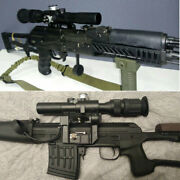 4x26 Russian Army Pso-1 Type Scope Sniper Riflescope Hunting Trail Cover