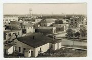 Birdand039s Eye View Fertile Minnesota Buildings Sign And039land Officeand039 + More Rppc