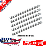 Stainless Steel Burner Tubes 16 3/4 X 1 For Master Forge Kenmore Bbq Gas Grills