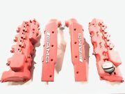M113k Wrinkle Red Powdercoated Valve Covers And Surge Tanks E55 G55 S55 Sl55