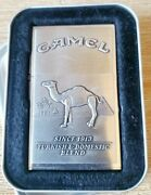 Vintage 1996 Zippo Camel Cigs Lighter 1932 Replica 2nd Release In Tin Unfired