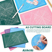 A3 A4 A5 Cutting Mat Non Slip Printed Grid Lines Knife Board Craft Model