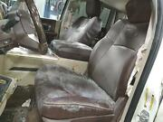 10-18 Dodge 2500 Complete Seat Set W/bag Bucket Leather Heat/cool Me Pwr