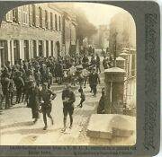 World War 1, Getting Sweets From A Y.m.c.a. Canteen--underwood Stereoview 14506