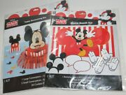 Mickey Mouse Birthday Party Table Decorations Photo Booth