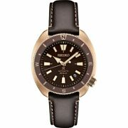 Seiko Srpg18 Land Tortoise Japan Watch Compass Rose Gold 200 Meter Automatic
