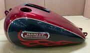 Harley Tank Fuel Fire Red Pearl/ 61039-07cha
