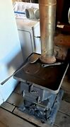Antique Caboose Railroad Wood/coal Stove From Estate 249andnbsp From 1912