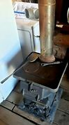 Antique Caboose Railroad Wood/coal Stove From Estate 249 From 1912