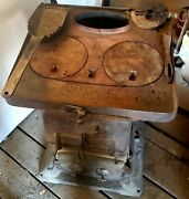 Antique Caboose Railroad Wood/coal Stove From Estate 149andnbsp From 1912