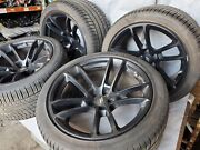 2018 19 20 2021 Dodge Challenger Charger Set Of 4 20 Inch Wheels With Tires Oem