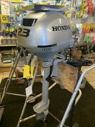 New Honda Marine Outboard 2.3hp 15transom Model Bf2.3dhscha Shipping Included