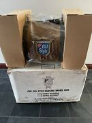 New Sealed Old Style Beer Barrel Hanging Poker Pool Table Light Bar Sign Read