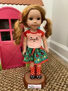 Wellie Wishers Playhouse And Willa Doll