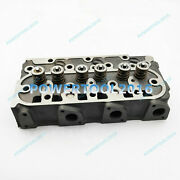 New Kubota D905 Complete Cylinder Head W Valve And Springs Loaded New