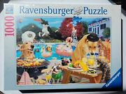 2021 Dogs Days Of Summer, Ravensburger 1000pc Jigsaw Puzzle-new