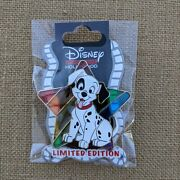 Patch Stained Glass Pin 2021 Disney 101 Dalmatians Pride Lgbt Le 400 Dssh Dsf