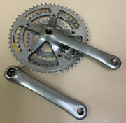 Shimano Rx Crankset A550 Triple 175 Mm 52-42-30t 7 8 Or 9 Speed