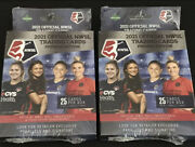 2021 Official Nwsl Trading Cards Premier Edition Sealed Box Lot Of 2 Boxes
