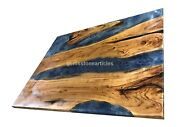 Made To Order Epoxy Custom Dining Table Acacia Epoxy Resin River Furniture