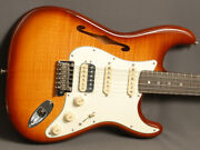 Fender Stratocaster Rarities Flame Maple Top Hss Thinline