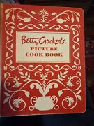 Vintage Betty Crocker's Picture Cook Book Hb 1st Edition 9th Printing 1950