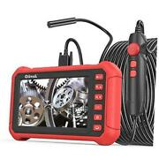 Industrial Endoscope 5.0 Mp Borescope Inspection 32.8/ft/with Case Bag Black