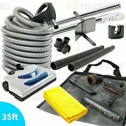 New-beam Nutone Kenmore Electric Central Vacuum Powerhead 35ft Hose Cleaning Kit