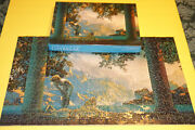 1975 Complete Assembled Maxfield Parrish Daybreak Springbok Jigsaw Puzzle 500 Pc