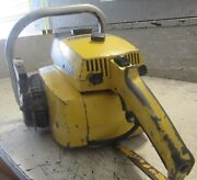 Vintage Collectible Mcculloch Pro Mac 55 Chainsaw With 20 Bar
