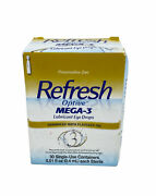 Refresh Optive Mega-3 Lubricant Eye Drops 30 Single-use Containers