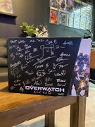 Rare Overwatch Collectorand039s Edition Pc Signed Blizzard Own A Piece Of History