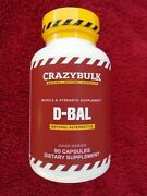 D-bal Muscle And Strength Supplement Natural Alternative 90 Caps. New And Sealed